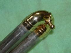 抜差し管の凹み修理