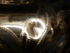 アルトサックス一番管凹み修理